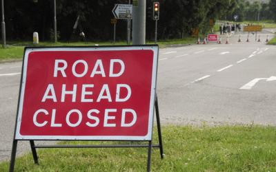 Road closures – A46